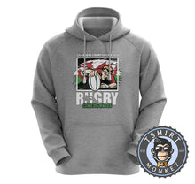 Load image into Gallery viewer, Rugby | Come on Whales Hoodies Hoodie Hoody Jumper Pullover Mens Ladies Kids Unisex 0096