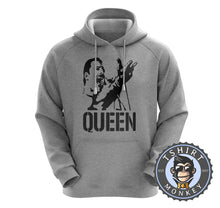 Load image into Gallery viewer, Freddie Mercury Stencil Illustration Hoodies Hoodie Hoody Jumper Pullover Mens Ladies Kids Unisex 0311