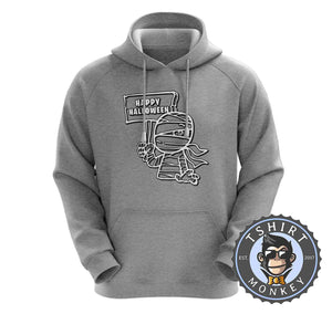Happy Halloween V1 Mummy Inspired Cartoon Hoodies Hoodie Hoody Jumper Pullover Mens Ladies Kids Unisex 1158