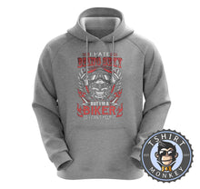 Load image into Gallery viewer, I Hate Being Sexy Funny Biker Skull Vintage Statement Hoodies Hoodie Hoody Jumper Pullover Mens Ladies Kids Unisex 1252