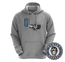 Load image into Gallery viewer, Battle of Time Machine - DeLoeran Meets Tardis Movie Inspired Hoodies Hoodie Hoody Jumper Pullover Mens Ladies Kids Unisex 1274