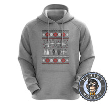 Load image into Gallery viewer, Jedi Force Ugly Sweater Christmas Hoodies Hoodie Hoody Jumper Pullover Mens Ladies Kids Unisex 1669