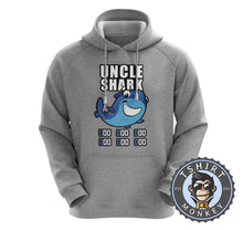 Load image into Gallery viewer, Uncle Shark Music Inspired Cartoon Hoodies Hoodie Hoody Jumper Pullover Mens Ladies Kids Unisex 1260