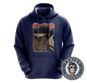 Cookie Monster Gingerbread Scream TV Inspired Halftone Mashup Hoodies Hoodie Hoody Jumper Pullover Mens Ladies Kids Unisex 1329