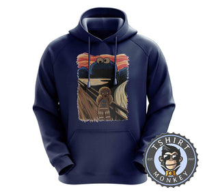 Cookie Monster Gingerbread Scream TV Inspired Mashup Hoodies Hoodie Hoody Jumper Pullover Mens Ladies Kids Unisex 1328