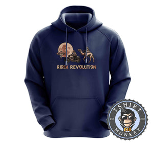 Rider Revolution Funny Graphic Illustration Hoodies Hoodie Hoody Jumper Pullover Mens Ladies Kids Unisex 1251