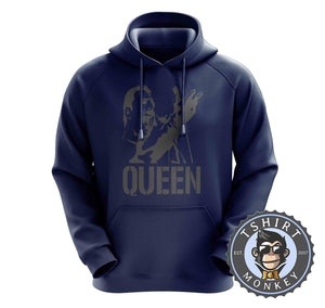 Freddie Mercury Stencil Illustration Hoodies Hoodie Hoody Jumper Pullover Mens Ladies Kids Unisex 0311