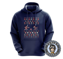 Load image into Gallery viewer, Mega Christmas Ugly Sweater Hoodies Hoodie Hoody Jumper Pullover Mens Ladies Kids Unisex 2853