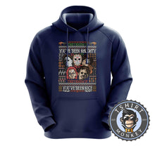 Load image into Gallery viewer, You have Been Naughty Ugly Sweater Hoodies Hoodie Hoody Jumper Pullover Mens Ladies Kids Unisex 3003