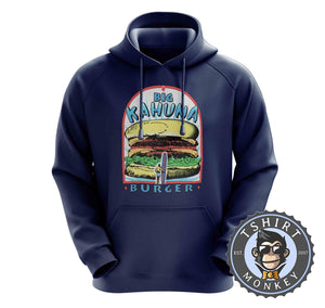 Big Kahuna Burger Pulp Fiction Movie Inspired Vintage Summer Hoodies Hoodie Hoody Jumper Pullover Mens Ladies Kids Unisex 1116