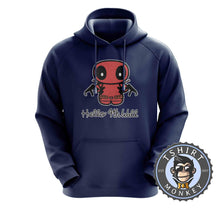 Load image into Gallery viewer, Hello 4th Wall Cute Deadpool Inspired Cartoon Hoodies Hoodie Hoody Jumper Pullover Mens Ladies Kids Unisex 1196