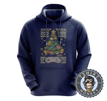Load image into Gallery viewer, Classic Gaming Ugly Sweater Christmas Hoodies Hoodie Hoody Jumper Pullover Mens Ladies Kids Unisex 2863