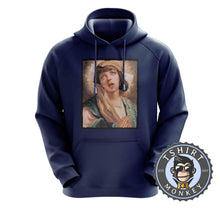 Load image into Gallery viewer, Virgin Mia Wallace Pulp Fiction Movie Inspired Halftone Graphic Illustration Hoodies Hoodie Hoody Jumper Pullover Mens Ladies Kids Unisex 1130