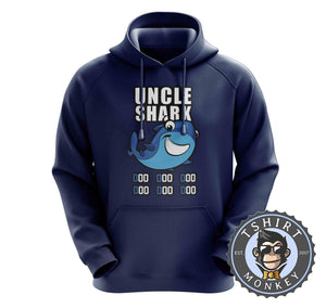Uncle Shark Music Inspired Cartoon Hoodies Hoodie Hoody Jumper Pullover Mens Ladies Kids Unisex 1260