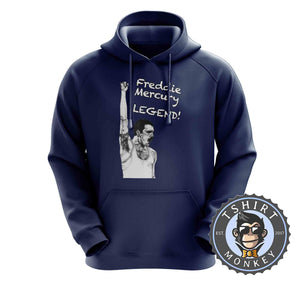 Freddie Mercury - Legend Hoodies Hoodie Hoody Jumper Pullover Mens Ladies Kids Unisex 0223
