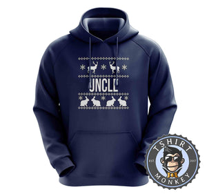 Uncle Ugly Sweater Christmas Hoodies Hoodie Hoody Jumper Pullover Mens Ladies Kids Unisex 1674