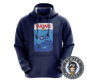 Paws Hoodies Hoodie Hoody Jumper Pullover Mens Ladies Kids Unisex 3014