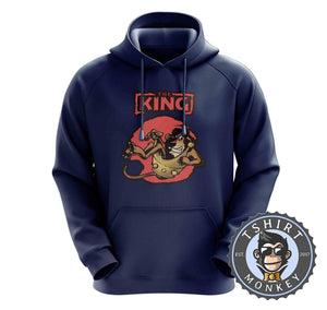 The King - Lion Inspired Animal Print Graphic Cartoon Hoodies Hoodie Hoody Jumper Pullover Mens Ladies Kids Unisex 1258