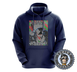 We See You Ugly Sweater Christmas Hoodies Hoodie Hoody Jumper Pullover Mens Ladies Kids Unisex 2915
