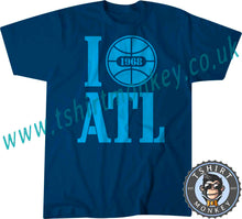 Load image into Gallery viewer, I Love ATL I Love Atlanta USA 1968 T Shirt T-Shirt Unisex Mens Kids Ladies 00001 - TeeTiger