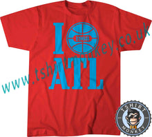Load image into Gallery viewer, I Love ATL I Love Atlanta USA 1968 T Shirt T-Shirt Unisex Mens Kids Ladies 00001