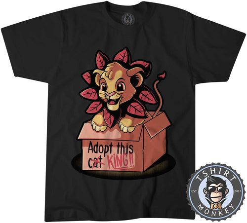 Adopt This King - Lion King Inspired Cute Simba Cartoon Tshirt Kids Youth Children 1476