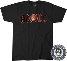 Load image into Gallery viewer, ACDC The Flash Inspired Tshirt Mens Unisex 0259