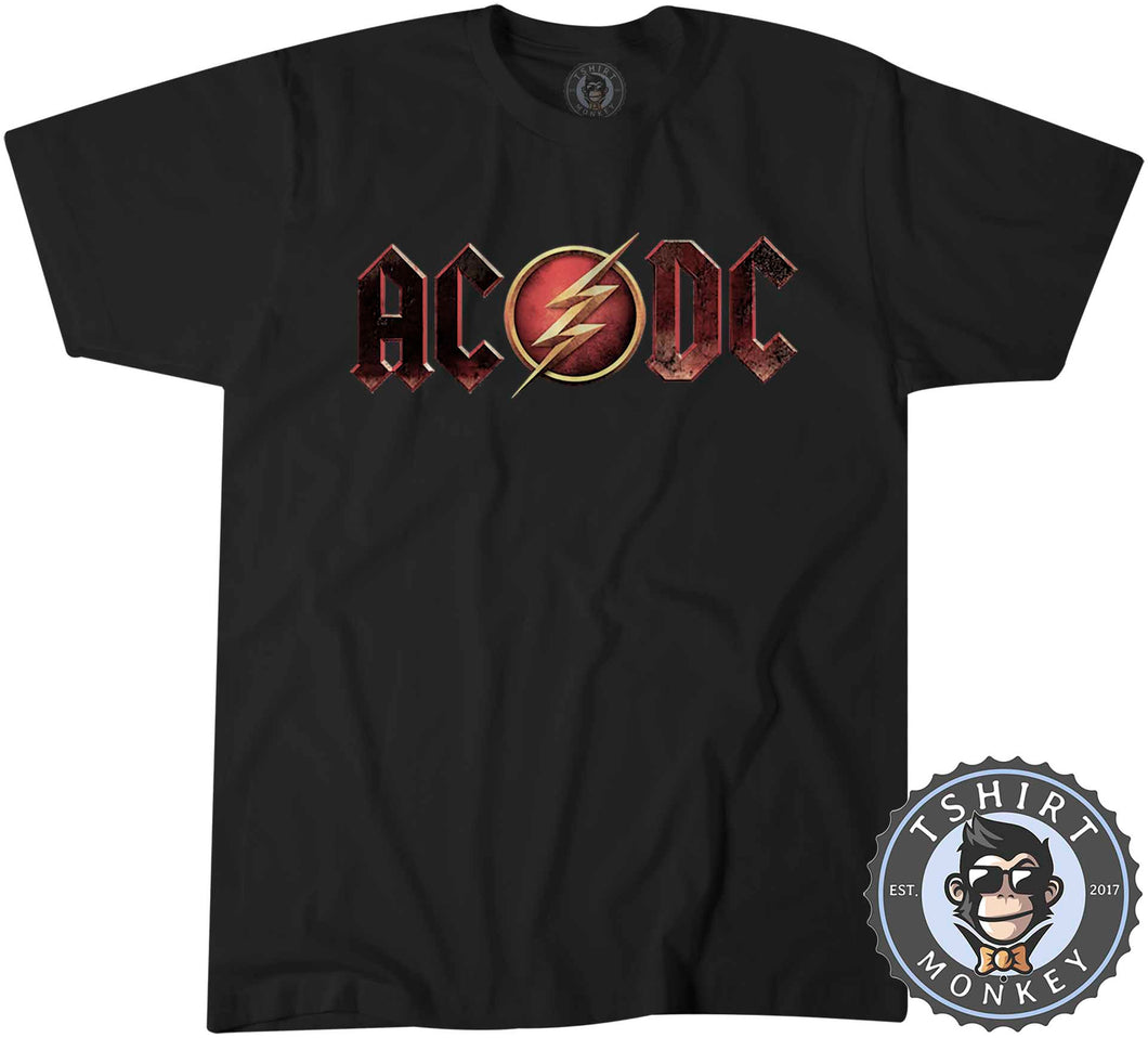 ACDC The Flash Inspired Tshirt Mens Unisex 0259