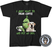 Load image into Gallery viewer, All I Need Is My Dog And My Coffee Tshirt Mens Unisex 2987
