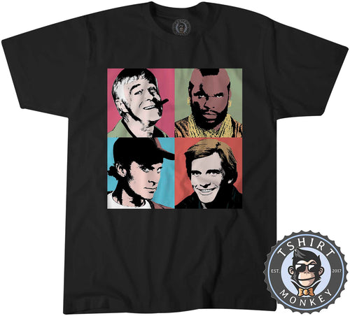 The A Team Pop Tshirt Kids Youth Children 0141