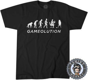 Gamevolution Vintage Game Inspired Funny Tshirt Kids Youth Children 1068