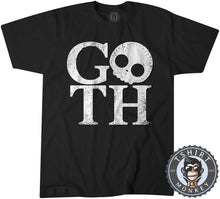 Load image into Gallery viewer, GOTH V1 Skull Inspired Graphic Illustration Tshirt Mens Unisex 1192