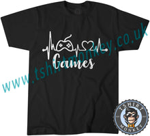 Load image into Gallery viewer, Games T-Shirt Unisex Mens Kids Ladies