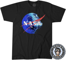 Load image into Gallery viewer, NASA Death Star Space Station Movie Inspired Meme Mashup Tshirt Mens Unisex 1245