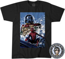 Load image into Gallery viewer, Far From Home Movie Inspired Poster Fan Art Tshirt Shirt Kids Youth Children 2363