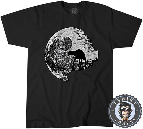 AT-AT Moon Walker Graphic Illustration Tshirt Shirt Mens Unisex 2955