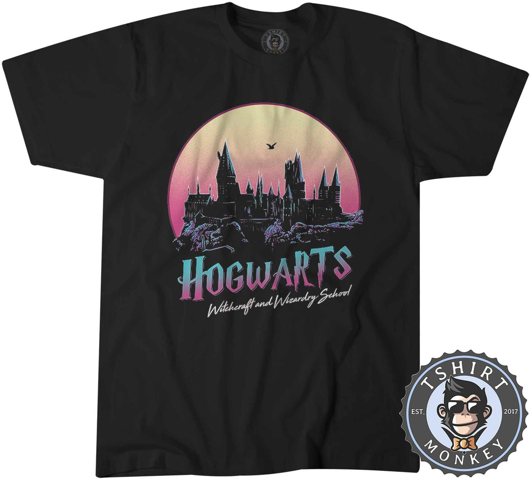 Hogwarts Inspired Vintage Summer Tshirt Kids Youth Children 0343