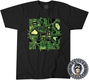 Triple Nerd Score Geek Technology Graphic Tshirt Kids Youth Children 1303