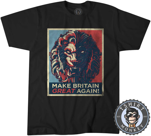 Make Britain Great Again Hope Inspired Pop Art Tshirt Kids Youth Children 0764