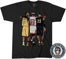 Load image into Gallery viewer, Bryant x Jordan x James Sports Illustration Graphic Tshirt Mens Unisex 1351