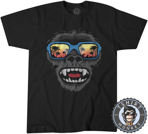 Summer Ape Animal Inspired Graphic Tshirt Shirt Mens Unisex 2004