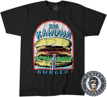 Load image into Gallery viewer, Big Kahuna Burger Pulp Fiction Movie Inspired Vintage Summer Tshirt Mens Unisex 1116