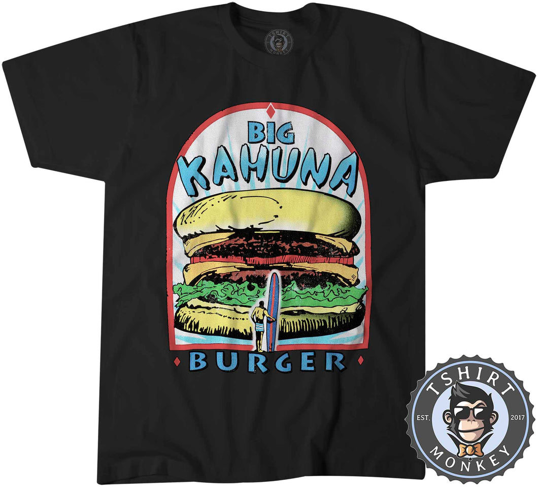 Big Kahuna Burger Pulp Fiction Movie Inspired Vintage Summer Tshirt Mens Unisex 1116