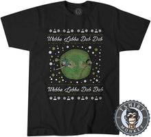 Load image into Gallery viewer, Wubba Lubba Dub Dub Ugly Sweater Christmas Tshirt Mens Unisex 1678