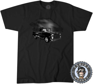 American Classic Hot Rod Pickup Truck Tshirt Kids Youth Children 0014