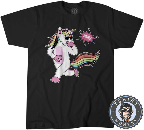 BANG - Swag Unicorn Cool Funny Graphic Tshirt Shirt Mens Unisex 1567