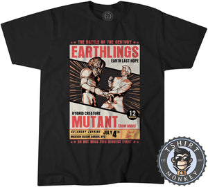 Earthlings Last Hope Alien Mutant Funny Poster Tshirt Kids Youth Children 1102