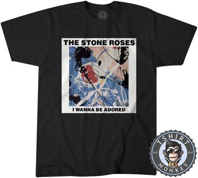 I Wanna Be Adored By The Stone Roses Tshirt Kids Youth Children 0172