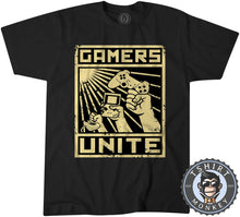 Load image into Gallery viewer, Gamers Unite - Vintage Gaming Graphic Tshirt Kids Youth Children 1210