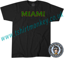 Load image into Gallery viewer, Miami America Holiday T-Shirt Unisex Mens Kids Ladies - TeeTiger